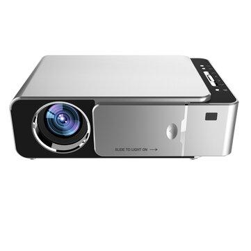T6 LCD Projector 1280 x 720P HD 3500 Lumens Mini LED Projector Home Theater bluetooth WIFI USB HDMI VGA