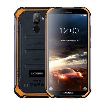 DOOGEE S40 5.5 inch IP68 IP69K Waterproof NFC Android 9.0 4650mAh 3GB 32GB MT6739 4G Smartphone Mobile Phones from Phones & Telecommunications on banggood.com
