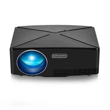 AUN C80 LED Projector LCD 2200 Lumens 1280x720 Resolution HD VGA USB Office Home Theater