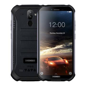 £80.4738%DOOGEE S40 5.5 Inch IP68 IP69K Waterproof NFC Android 9.0 4650mAh 3GB RAM 32GB ROM MT6739 Quad Core 4G SmartphoneSmartphonesfromMobile Phones & Accessorieson banggood.com