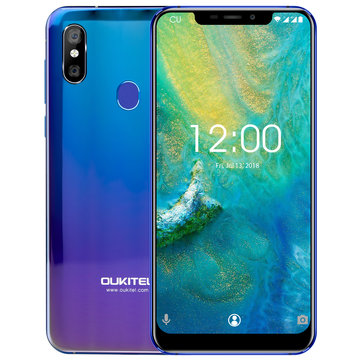 £168.94 15% OUKITEL U23 6.18 Inch FHD+ 3500mAh Wireless Charge 6GB RAM 64GB ROM Helio P23 Octa Core 2.0GHz 4G Smartphone Smartphones from Mobile Phones & Accessories on banggood.com