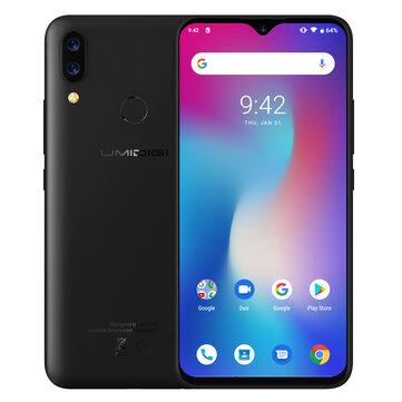 £124.7920%UMIDIGI Power Global Bands 6.3 Inch FHD+ Waterdrop Display NFC 5150mAh Android 9.0 4G 64G Helio P35 4G SmartphoneSmartphonesfromMobile Phones & Accessorieson banggood.com