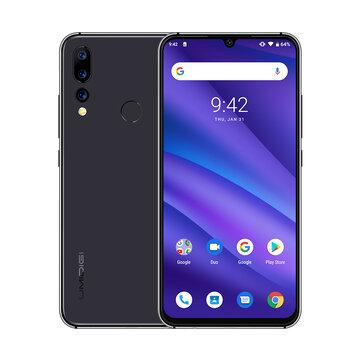 UMIDIGI A5 Pro Global Version 6.3 Inch FHD+ Waterdro Display Android 9.0 4150mAh Triple Rear Cameras 4GB 32GB Helio P23 4G Smartphone