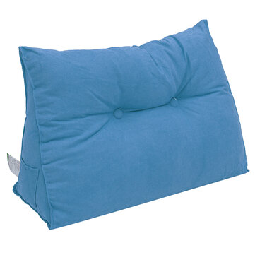 bedside sofa cushion triangular big long backrest pillow large backrest soft bed headrest