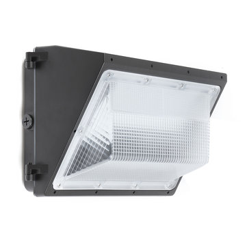 120w led wall pack commercial industrial light outdoor security fixture waterpro wall lamp
