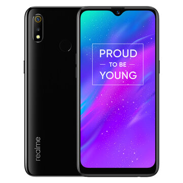 £152.09 33% OPPO Realme 3 Global Version 6.2 Inch HD+ Android 9.0 4230mAh 13MP AI Front Camera 3GB RAM 64GB ROM Helio P70 Octa Core 2.1GHz 4G Smartphone Smartphones from Mobile Phones & Accessories on banggood.com