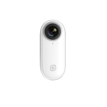 Insta360 GO 1080P Sports Action Camera Stabilized Auto Edit Hands-free Water Resistant Slow-mo Vlog Video Cam
