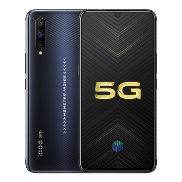VIVO iQOO Pro 5G Version 6.41 inch Super AMOLED 48MP Triple Rear Camera NFC 12GB 128GB Snapdragon 855 Plus Octa core 5G Smartphone Smartphones from Mobile Phones & Accessories on banggood.com