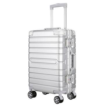 IPRee® 20inch Travel Suitcase 36L 3.54kg Aluminum Alloy Password Lock Spinner Wheel Luggage Case