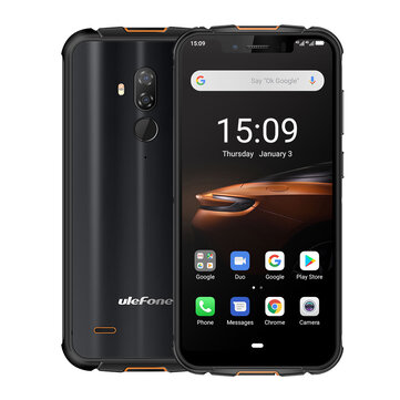 Ulefone Armor 5S IP68 IP69K Waterproof 5.85 inch 4GB 64GB NFC 5000mAh Wireless Charge MT6763 Octa Core 4G Smartphone