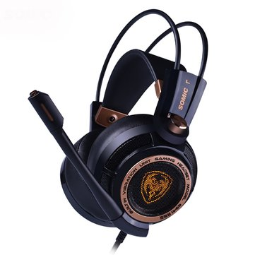 SOMiC G941 Virtual 7.1 Surround USB Gaming Headphone LED Backlight Headset With Microphone for PS4 XBOX