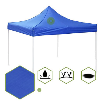 2x2m camping replacement canopy top patio tent sunshade pavilion gazebo cover