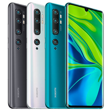 Xiaomi Mi Note 10 Global Version 6.47 inch 3D Curved AMOLED 108MP Penta Camera 30W Fast Charge 6GB 128GB 4G SmartphoneSmartphonesfromMobile Phones & Accessorieson banggood.com