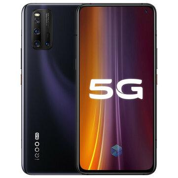 Vivo iQOO 3 5G CN Version 6.44 inch FHD+ 180Hz Touch Sensing HDR10+ NFC 4440mAh 48MP Quad Rear Cameras 6GB 128GB Snapdragon 865 SmartphoneMobile PhonesfromPhones & Telecommunicationson banggood.com