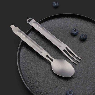 NEXTOOL Titanium Spoon Fork Tableware Set from xiaomi youpin