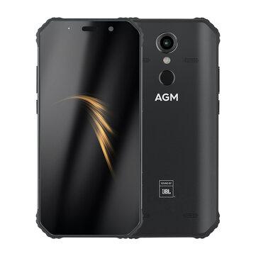 £242.70%AGM A9 5.99 inch 5400mAh 16MP Front Camera NFC IP68 Waterproof 4GB 64GB Snapdragon 450 Octa Core 4G SmartphoneSmartphonesfromMobile Phones & Accessorieson banggood.com