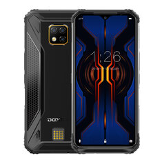 DOOGEE S95 Pro Global Bands IP68 Waterproof 6.3 inch FHD+ NFC Android 9.0 5150mAh 48MP AI Triple Rear Cameras 8GB RAM 128GB ROM Helio P90 Octa Core 4G Smartphone