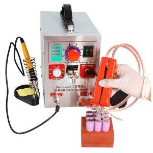 Ευρωπαϊκή αποθήκη | SUNKKO 709A 3.2kw Spot Welding Machine + Universal Welding Pen for Phone 18650 Lithium Battery