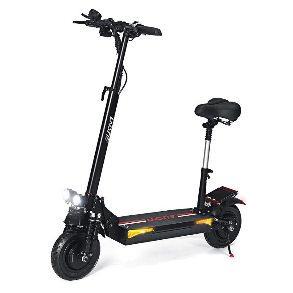 LAOTIE® L6 Pro 48V 24Ah 21700 Battery 2x500W Dual Motor 50km/h Max Speed Electric Scooter 10 Inch 100km Mileage Triple Brake System Max Load 150kg EU Plug