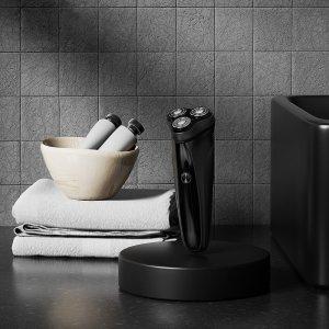 Στα 9.93€ από αποθήκη Κίνας | ENCHEN Warrior Electric Shaver 3 Floating Shaving Heads Beard Trimmer Ultra-Thin Type-C USB Rechargeable Electric Razor for Men's Gift