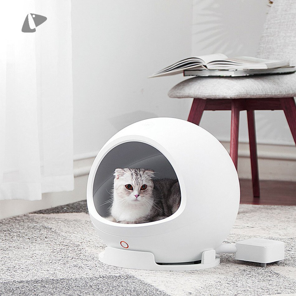 PETKIT Automatic Pet House Smart Beds Mats Safety Nest Cold Warm Design Intelligent Health App Control With Wifi Wireless Controller From Xiaomi Youpin For Cat Dog Sleeping