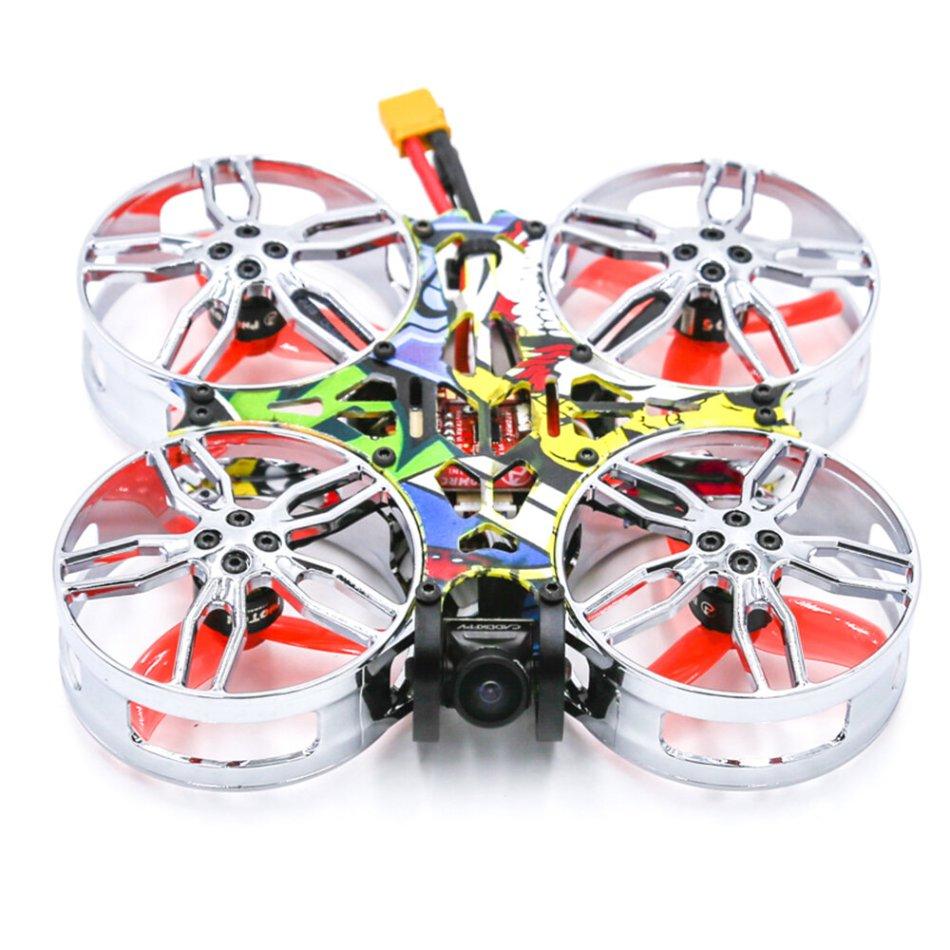SKYZONE ATOMRC CineFlex CF100 100mm Exceed F411 Filght Controller BLS 15A 4 In 1 Brushless ESC 1105 5000KV Motor PNP Cinewhoop FPV Racing Drone