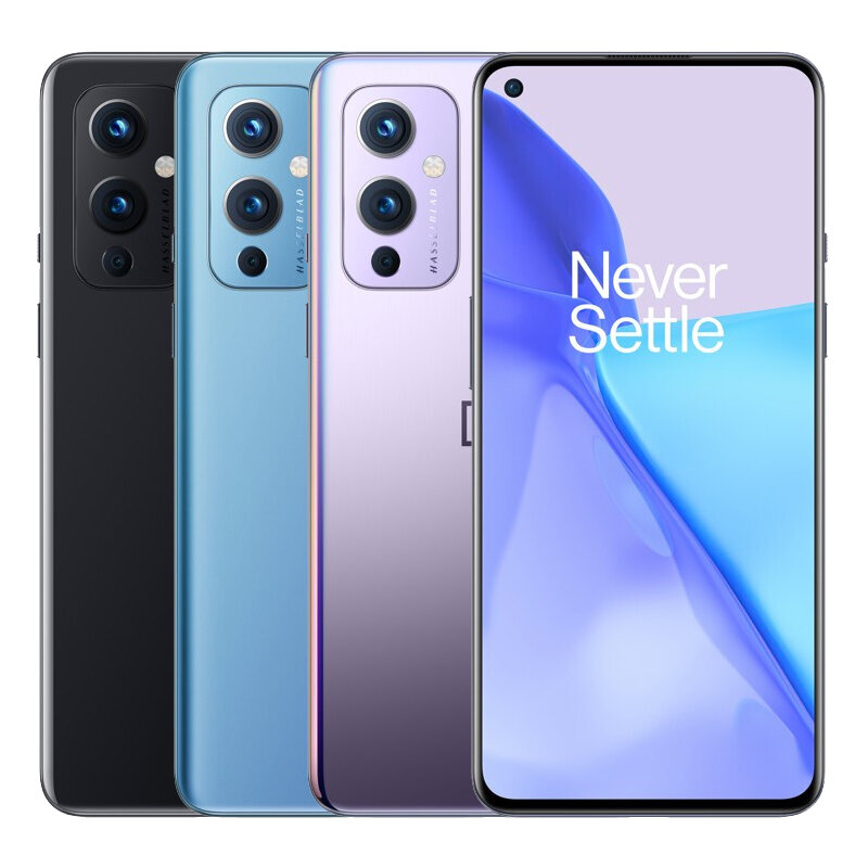 OnePlus 9 5G Global Version 12GB 256GB Snapdragon 888 NFC 6.55 inch 120Hz Fluid AMOLED Display Android 11 48MP Camera Warp Charge 65T 15W Wireless Charging Smartphone