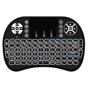 Στα €6.27 από αποθήκη Κίνας | MINI I8 Wireless Backlit 2.4GHz Touchpad Keyboard Air Mouse For TV Box MINI PC