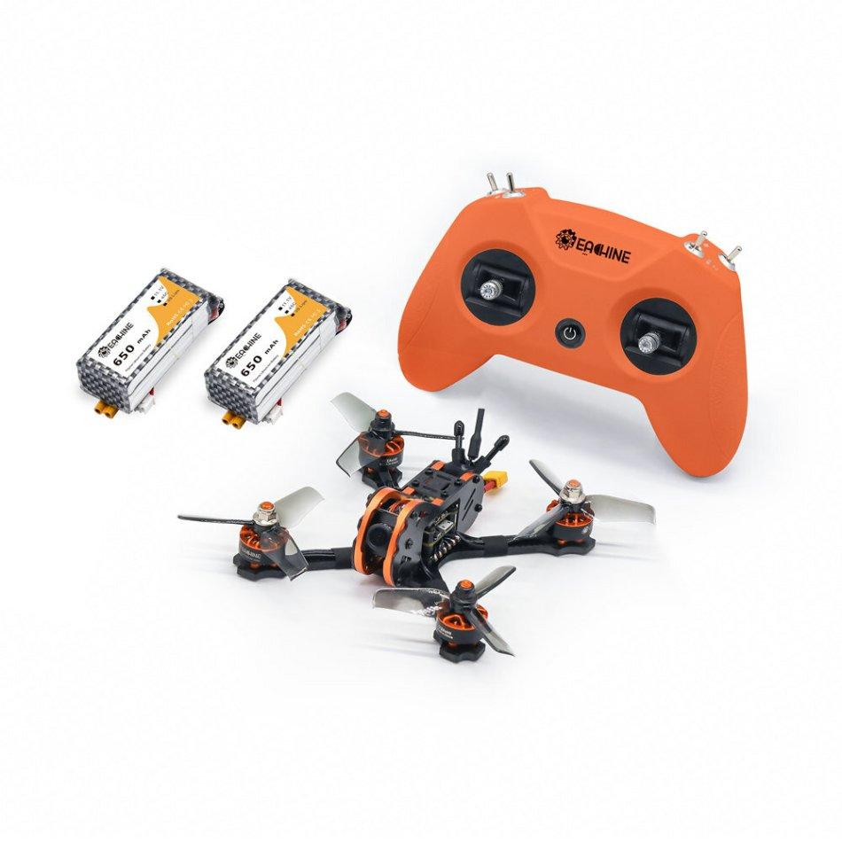 Eachine Tyro Tyro79S 140mm F4 OSD 20A ESC 3 Inch FPV Racing Drone RTF w/ 200mW VTX Frsky XM+ Receiver & LiteRadio 2.4G Radio Transmitter Mode 2 for Novice Newer Beginner