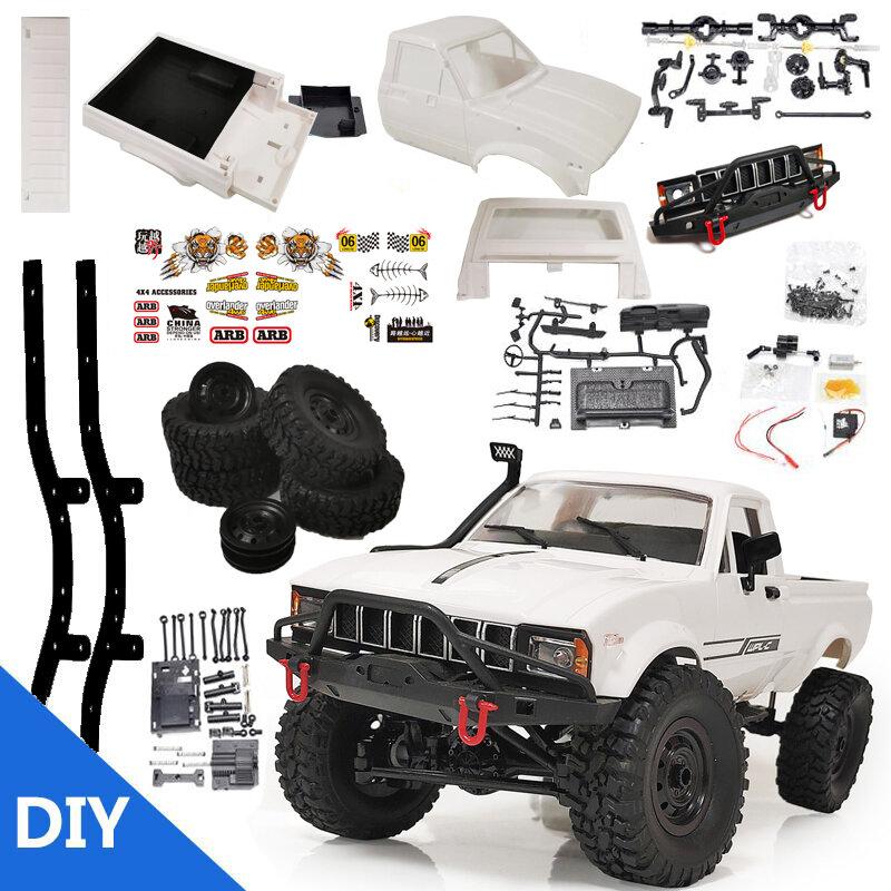 WPL C24 1/16 2.4G 4WD Crawler Truck RC Car KIT Full Proportional Control