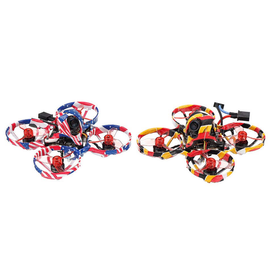 Eachine US65 DE65 PRO 65mm 1-2S Brushless Whoop FPV Racing Drone BNF CrazybeeX F4 FC CADDX ANT Cam 0802 14000KV Motor