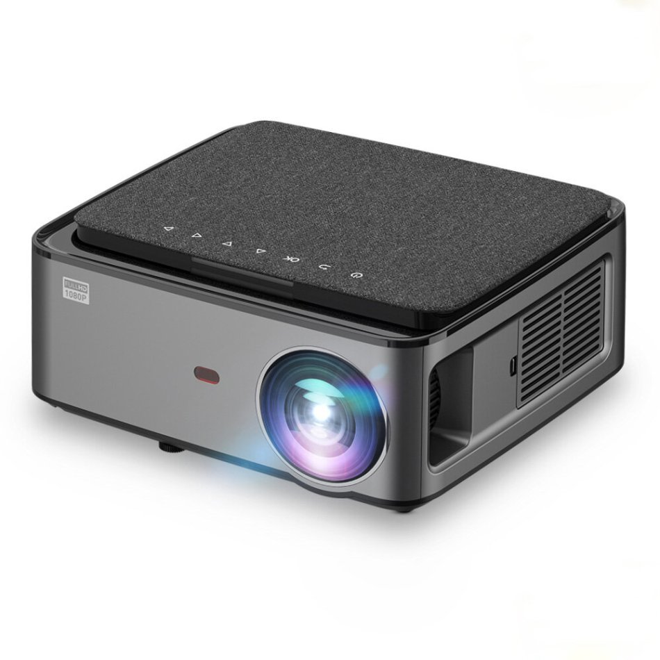 Rigal RD828 1080P Full HD WIFI Projector Wireless Phone Same Screen 6500 Lumens ±50° vertical keystone correction 50000 Hours Beamer 3D Home Theater Video Cinema