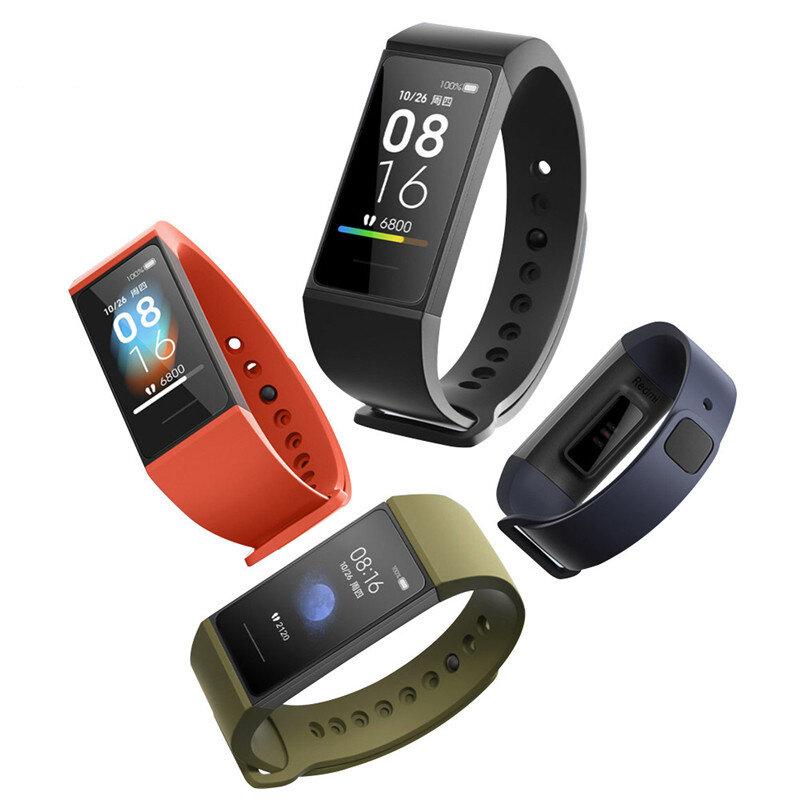 [bluetooth 5.0]Original Xiaomi Redmi Band Mi Band 4C 1.08' Large Screen Display Wristband bluetooth Music Control Fitness Tracker Smart Watch Global Version