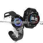 Στα 15.92€ από αποθήκη Ισπανίας   Bakeey Watch 4 HD Color Screen Wristband 24 Hours HR and Blood Pressure Monitor Business Style Smart Watch