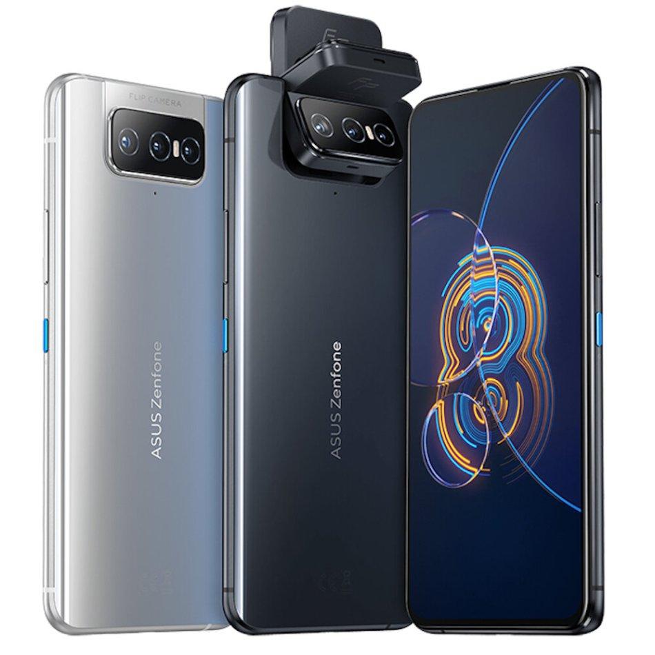 Original ASUS Zenfone 8 Flip Global Version NFC Snapdragon 888 Android 11 8GB 256GB 6.67'' 5000mAh 5G Smartphone