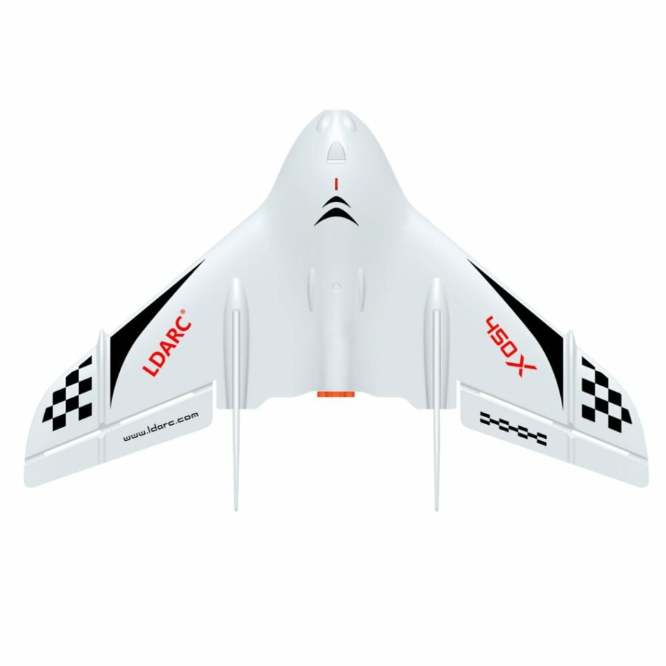KINGKONG/LDARC TINY WING 450X 431mm Wingspan EPP FPV RC Airplane Flying Wing Delta-Wing PNP With Flight Control