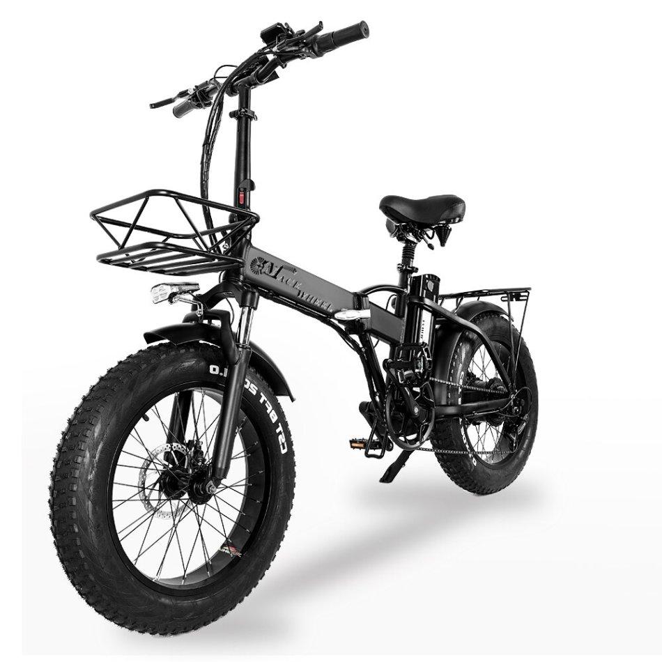 [EU Direct] B2 48V 15AH 750W 20in Folding Moped Electric Bicycle 100km Max Mileage 30-45km/h Speed Electric Bike