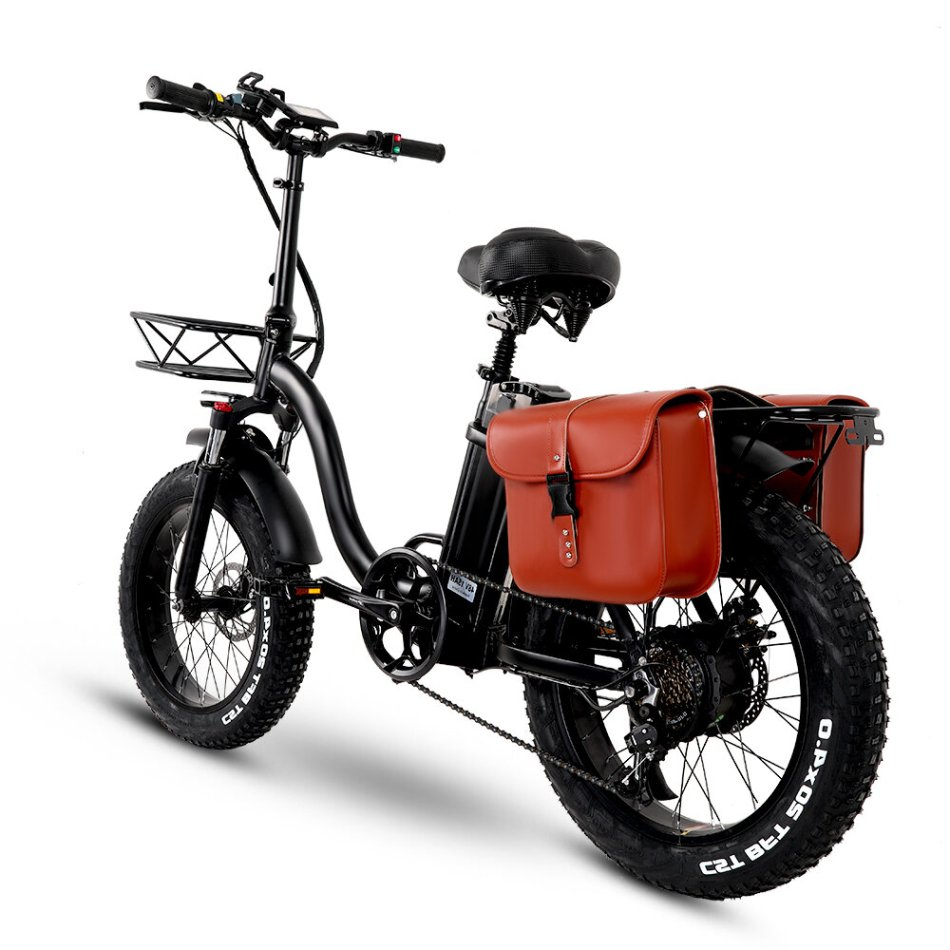 [EU Direct] CMACEWHEEL Y20 48V 15Ah 750W 20in Folding Electric Bike with Bag 45km/h Max Speed 60-100km Range E Bike COD