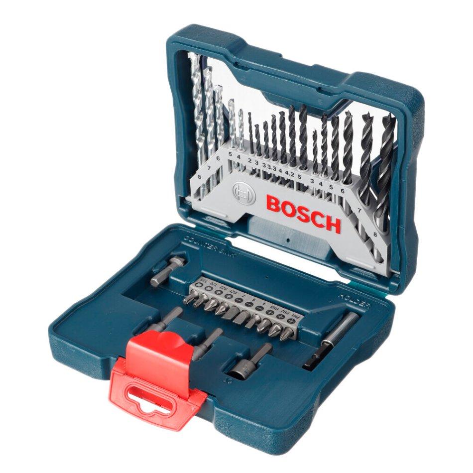 Bosch 33Pcs Metal Twist Drill Bit Round Handle Masonry Drill Bit Woodworking Drill Bit Screwdriver Head Mixed Set For Power Tool COD