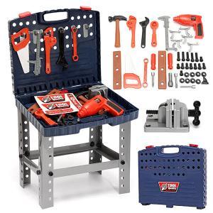 Στα 41€ από αποθήκη Κίνας | 69Pcs Play House Engineer Tools Set Kids Repair Tools Box Pretend Play Toys