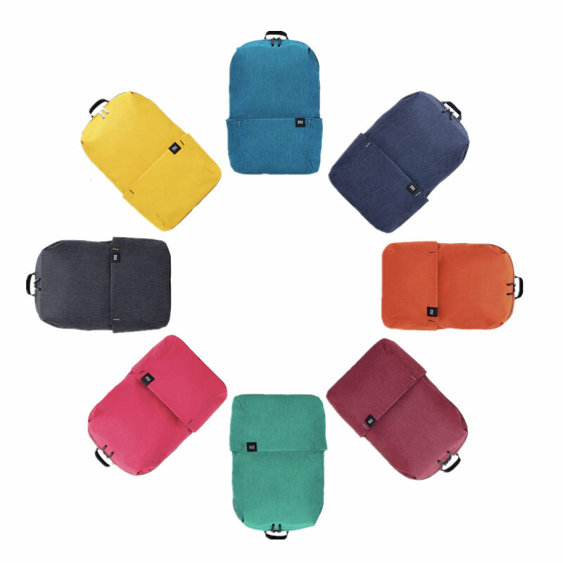 Original Xiaomi 10L Backpack Bag Women Men Sports Bag Level 4 Water Repellent Travel Camping Backbag