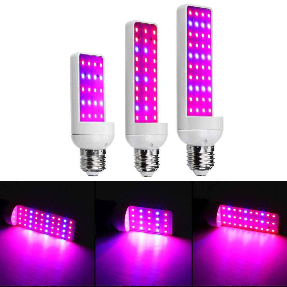 4w 6w 8w 20 30 40led E27 Led Grow Light Bulb Full Spectrum Indoor Plant Lamp For Hydroponic Seeds Sale Banggood Com