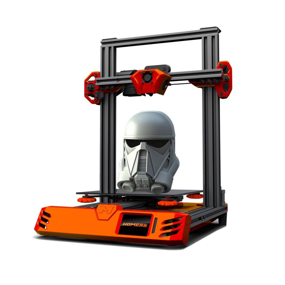 HOMERS/TEVO® Tarantula RS 3D Prinster DIY Kits 235*235*250mm Print Size AC BED/TMC2208/TOUCHSCREEN/32BIT MAINBOARD/WIFI