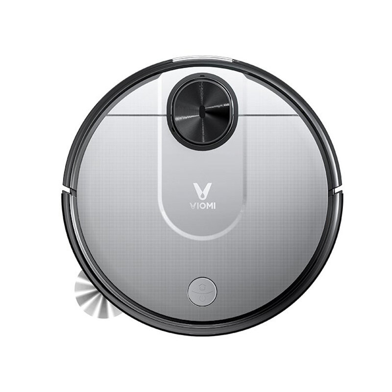 VIOMI V2 PRO Robot Vacuum Cleaner 2 in 1 2100Pa 550ml Electric Water Tank for Pets, LDS Laser Navigation Dry Wet Hair Cleaning Mopping Master