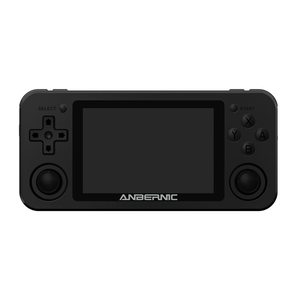 ANBERNIC RG351M 128GB 7000 Games Handheld Video Game Console for PSP PS1 NDS N64 MD Player RK3326 1.5GHz Linux System 3.5 inch OCA Full Fit IPS Screen