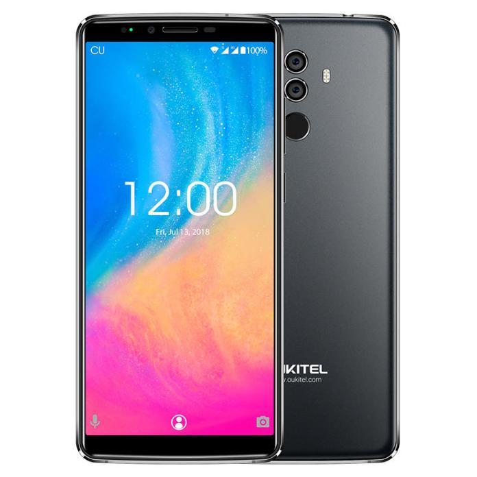 OUKITEL K8 6 Inch Dual Rear Camera 4GB RAM 64GB ROM MT6750T Octa-Core 1.5GHz 4G Smartphone