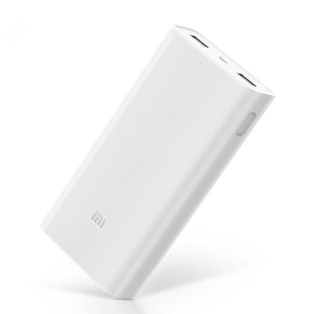 Ευρωπαϊκή αποθήκη στα 26€ με τα μεταφορικά. Εγώ τσίμπησα ένα 2ο να υπάρχει | Original Xiaomi 2C 20000mAh Quick Charge 3.0 Polymer Power Bank 2 Dual USB Output