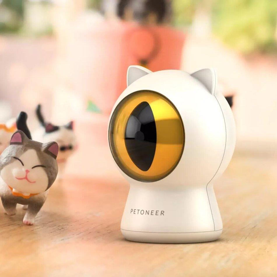 PETONEER Multifunction Interactive Pet Laser Toys USB Charging APP Control Multi-track Motion With Gravity Sensing Operation For Cat Dog From XiaomiYoupin