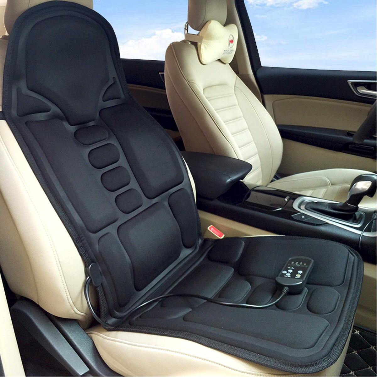Car Massage Cushion Car Home Full Body Cervical Massager Massage Car Seat Cushion Sale Banggood Com