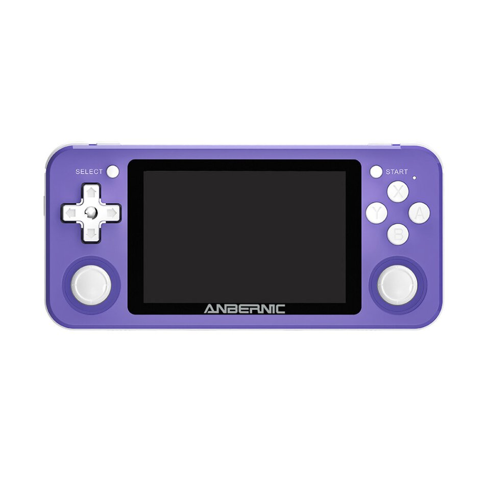ANBERNIC RG351P 128GB 10000 Games IPS HD Handheld Game Console Support for PSP PS1 N64 GBA GBC MD NEOGEO FC Games Player 64Bit RK3326 Linux System OCA Full Fit Screen